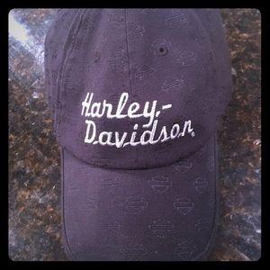 Harley black ball cap o/s